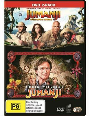 Jumanji / Jumanji - Welcome To The Jungle | Franchise Pack - DVD Region 4 Free S