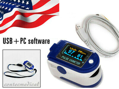 FDA Finger Pulse Oximeter Blood Oxygen Meter SpO2 Heart Rate Monitor USA Seller