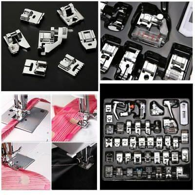 52 pcs Domestic Electric Sewing Machine Foot Presser Feet Kit Household HOT