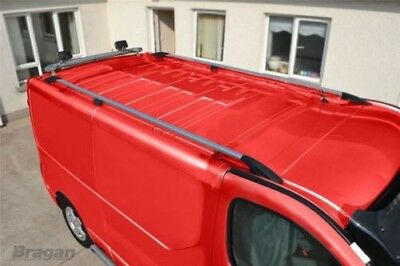 To Fit 02-14 Renault Trafic LWB Aluminium Alloy Roof Rails Rack Bars Cast Steel