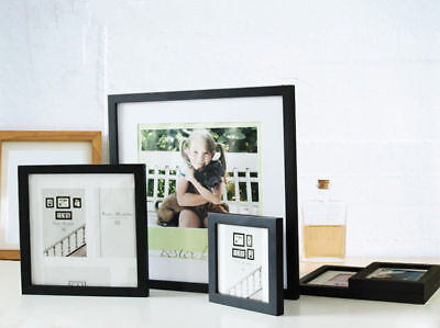 "Multi Size Wooden Picture Photo Wall Frame Square 5""/6""/7""/8""/10"" Room Decor"