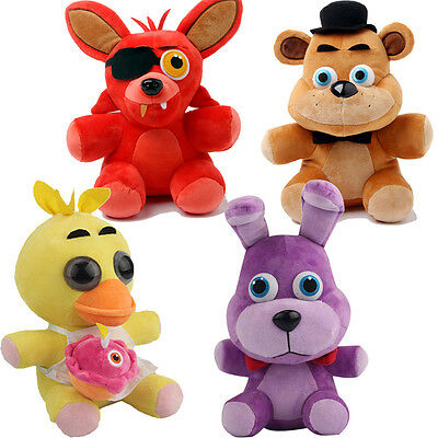Five Nights at Freddy's 4 FNAF 10'' Horror Game Plush Plushie Toys