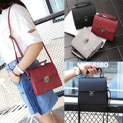 Ladies Bag Handbag Leather Shoulder Tote Satchel Messenger Cross Body Deer UK