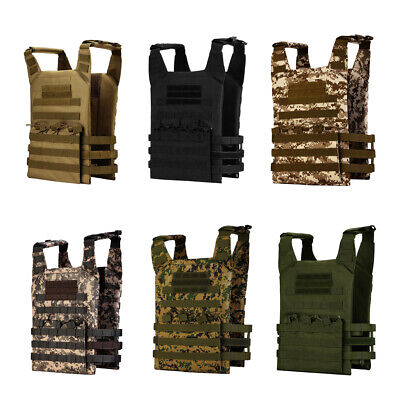 MOLLE Military Tactical Heavy Duty Vest Outdoor Hunting Paintball Vest