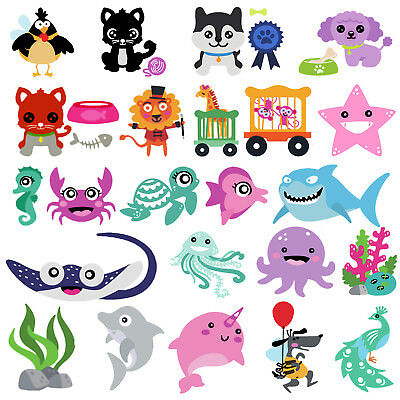 Metal Animals Cutting Dies Stencils DIY Scrapbooking Embossing Photo Card Crafts
