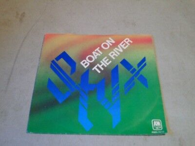 """Styx """" Boat On The River / Borrowed Time """" 7'-Single (1979)"""