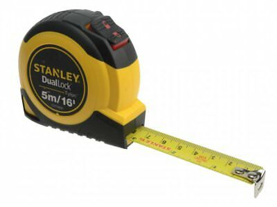 Stanley Tools Dual Lock Tylon Pocket Tape 5m/16ft (Width 19mm)