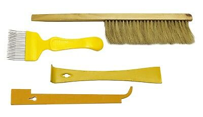 Beekeepers Tools Brush Uncapping Fork Hive Tool Hive J Tool Beekeeping Easibee