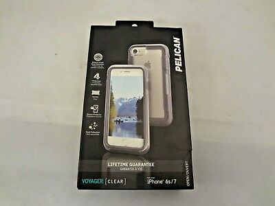 Pelican Voyager C23030-003B-CLC iPhone 7 Case (Smoke Clear)