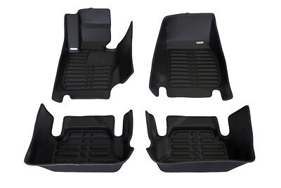 Waterproof Also Look Great in the Summer./ The Best/ BMW 4-Series Accessory. The Ultimate Winter Mats Largest Coverage All Weather Full Set - Bl TuxMat Custom Car Floor Mats for BMW 4-Series Coupe xDrive 2014-2019 Models/ - Laser Measured