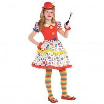 Circus Dress Child Size - Girls Childs Clown Carnival Fancy Costume Book Week