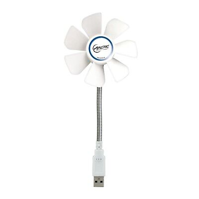 ARCTIC Breeze Mobile - Mini USB Desktop Fan with Flexible Neck and Adjustable...