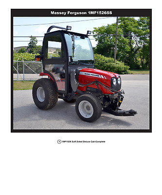 COMPLETE CURTIS SOFT Sided Cab System Kubota B3200 Series