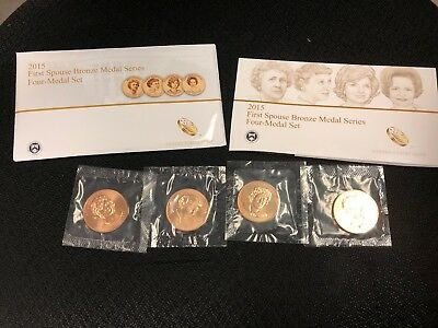 2015 First Spouse Bronze Medal Series, Four-Medal Set