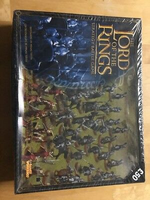 Warhammer Lotr Defenders Of Minas Tirith Box Set Very Rare Limited New Sealed