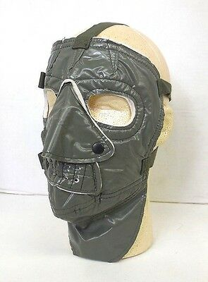 Unissued Us Military Green Og 207 Extreme Cold Weather Face Mask
