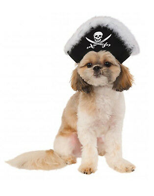 Pet Pirate Hat, Dog/ Cat Pirate Captain Skull Crossbone Hat