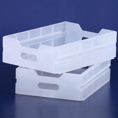 NEU! 7 x Trolley Plastik Einschub | plastic drawer ATLAS Norm | semi transparent