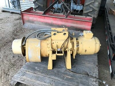 2000 lbs. ACCO Wright electric winch / hoist2 speed 2 winding