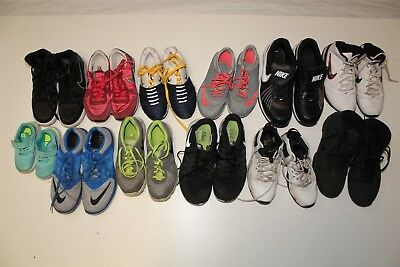 NIKE Lot Wholesale Used Shoes Rehab Resale Various Sizes Collection cTpG