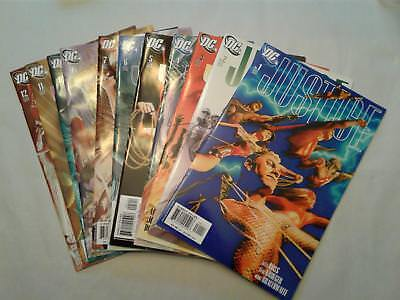 Alex Ross Series - Justice 1-12 Complete Vf/vf+ 2005 Beautiful Art