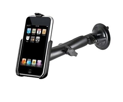 Suction Cup Long Arm Windshield Mount fits Apple iPod touch 2nd & 3rd Generation