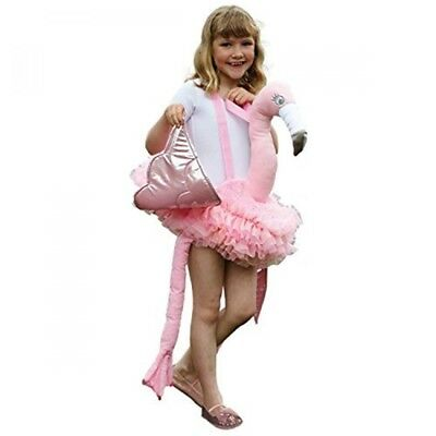 Ride On Flamingo Fancy Dress Costume From Travis Designs (3+ Years) - Kids  sc 1 st  PicClick UK & RIDE ON Flamingo Fancy Dress Costume From Travis Designs (3+ Years ...