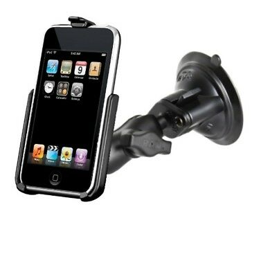 Short Arm Suction Cup Mount Holder fits Apple iPod touch 2nd & 3rd Generation