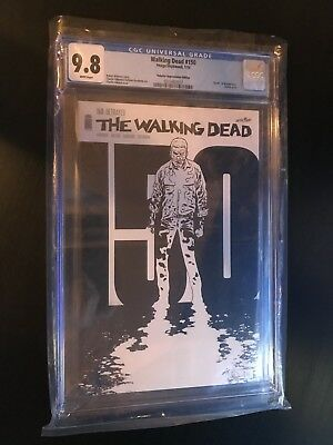 The Walking Dead Issue 150 Rare Retailer Appreciation Sketch Variant CGC 9.8