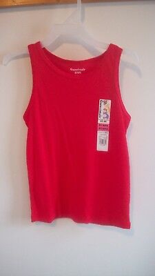 Garanimals unisex red ribbed tank top size 5 Brand New With Tags  boy or girl