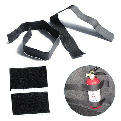 Universal Car Trunk Fire Extinguisher Magic Tape Bandage Stickers Belt Accessory