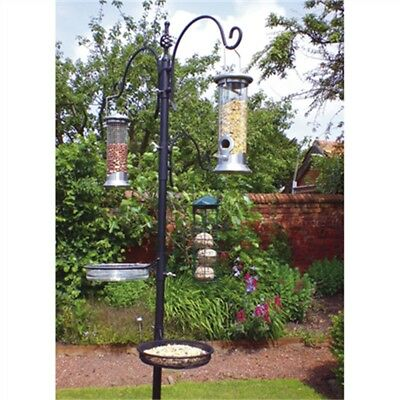 Traditional Bird Feeding Station - Garden Wild Metal Hanging Feeder Kingfisher