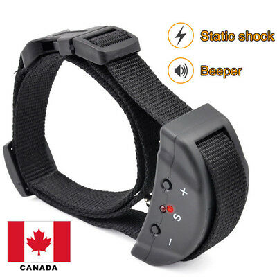 Anti Barking E-Collar No Bark Dog Training Shock Collar for Small Medium Dog CA