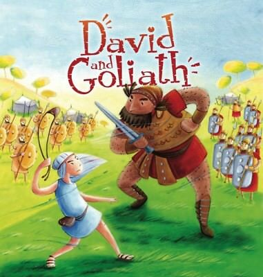My First Bible Stories Old Testament: David and Goliath (Paperbac...