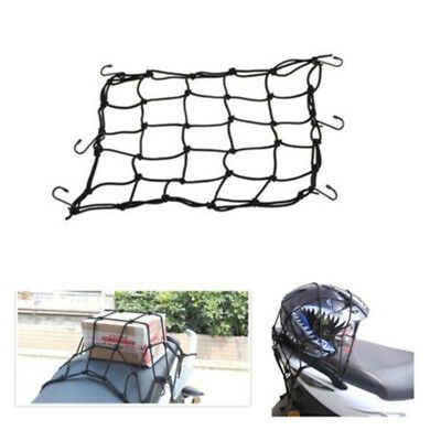 Motorcycle Protective Net Portable Durable Elastic Luggage Storage Net - BLACK