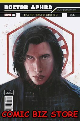 Star Wars Doctor Aphra #18 (2018) 1St Printing Reis Galactic Icon Variant Cover