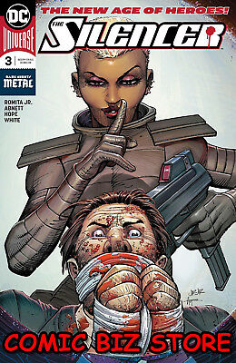 Silencer #3 (2018) 1St Printing Dark Nights Metal Tie-In Dc Universe Batman