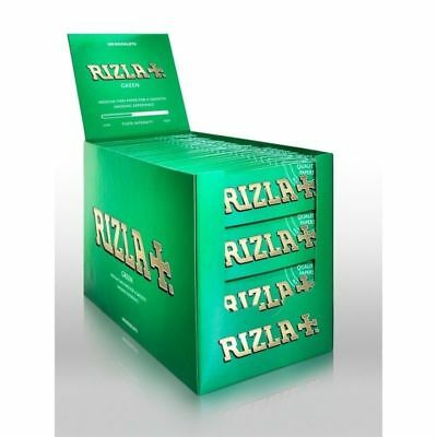 RIZLA Green Genuine Original Cigarette Rolling Papers Regular Size Rolling Paper