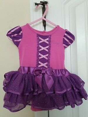 Disney Baby Princess Rapunzel One Piece Outfit/Costume Size 6 Months