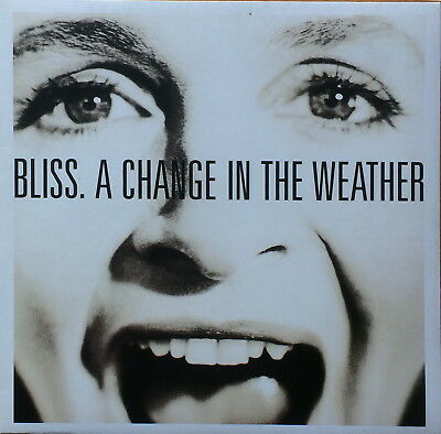 "Vinyl-LP "" A change in the weather "" von Bliss (1991) mit ""Crash into the ocean"""