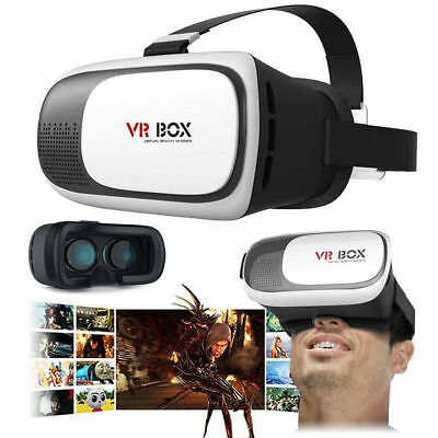 VR BOX V2.0 Mobile Virtual Reality 3D Video Glasses Headset Helmet For Phones
