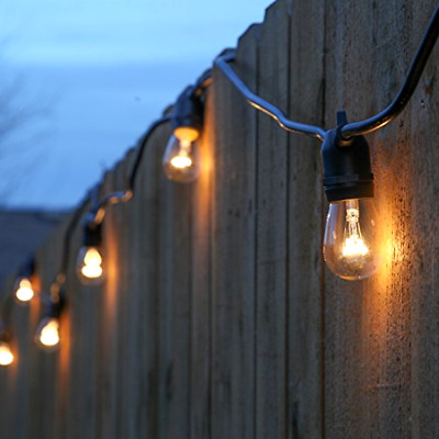 Brightech Ambience Pro Commercial Grade Outdoor Light Strand Non Hanging Socket
