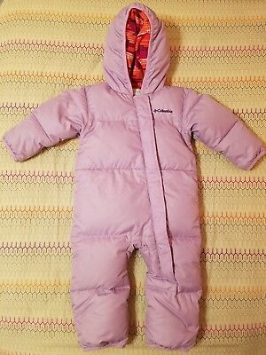 9fc9cedcbef COLUMBIA SNUGGLY BUNNY Bunting Baby Girl size 12-18M -  29.99