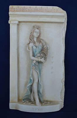 Goddess Tyche Goddess of Luck and Fortune sculpture - Daughter of Aphrodite