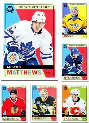 2017-18 O-Pee-Chee RETRO **** PICK YOUR CARD **** From The Set - [1-250]