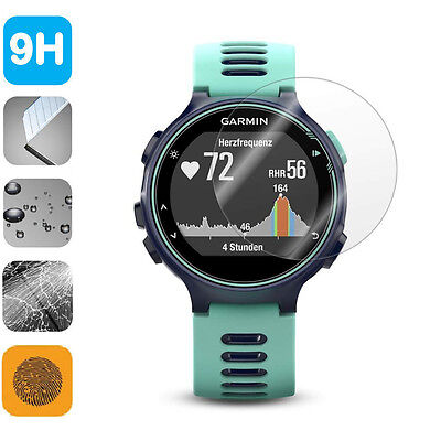 9H Tempered Glass LCD Screen Protector Shield Film for Garmin ForeRunner 735XT