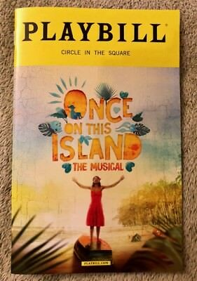 Once on This Island playbill - *New* *Free Mini Flyers* *FREE quick shipping*