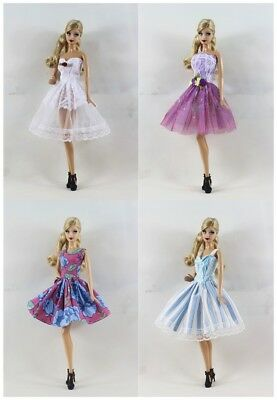 4 PCS Lovely Fashion Clothes/Ballet dress For 11.5in.Doll a02