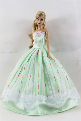 Fashion Princess Party Dress/Evening Clothes/Gown For Barbie Doll B03