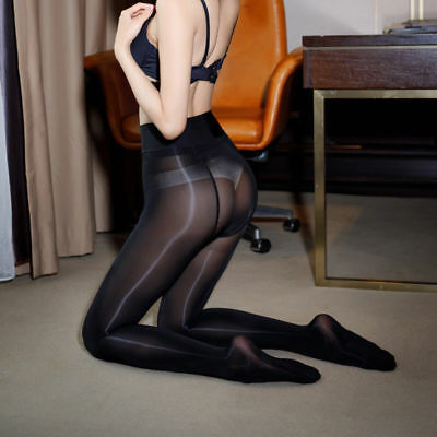 Plus Size Sexy High Quality Super Shiny Glossy Sheer Pantyhose Tights Stockings